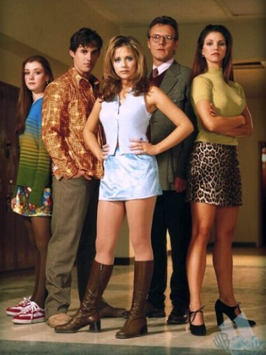 Buffy, season 1. Where miniskirts ruled the world.