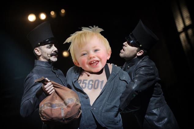 Valjean Arrested Teddy
